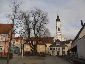 Altomünster, Blick auf die Kirche