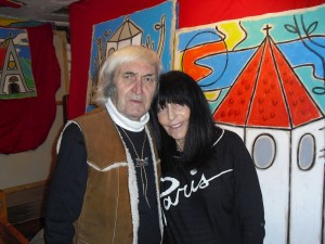 Gaudnek mit seiner Frau