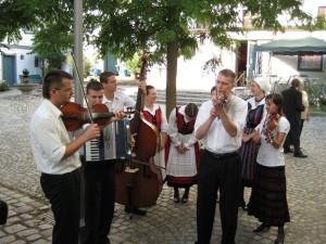 ungarische Musiker im Altohof