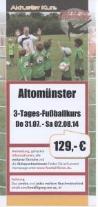 Hans Dorfner Fußballschule 1