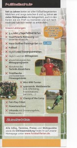 Hans Dorfner Fußballschule 2