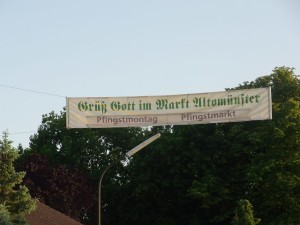 Pfingstmarkt Altomünster