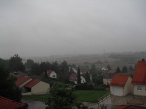 Regen in Altomünster