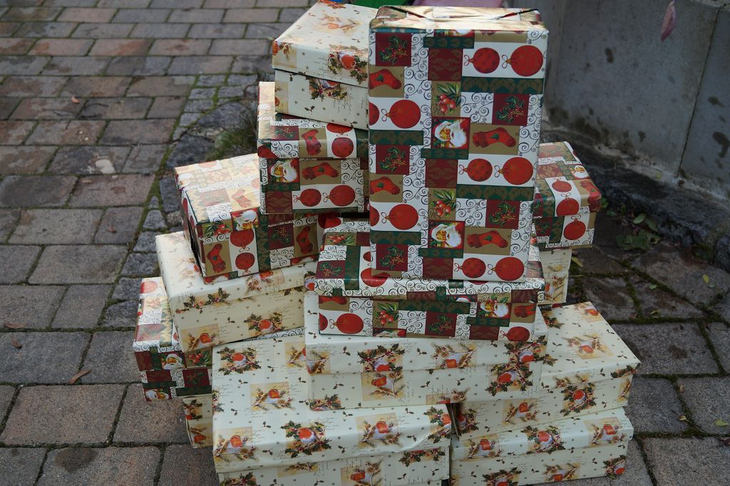 Weihnachten im Schuhkarton Altomünster
