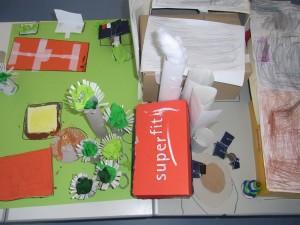 Modell der Schule Altomünster